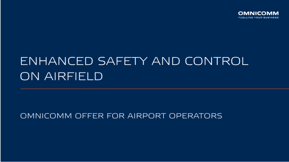 OMNICOMM Offer for Airport Operators Presentation