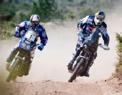 Omnicomm monitors fuel consumption in Yamaha rally motorbikes