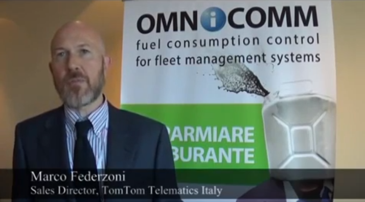 Marco Federzoni Sales Director TomTom Telematics About Partnership with OMNICOMM at Smart Mobility