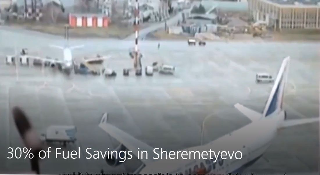 30% of Fuel Savings in Sheremetyevo