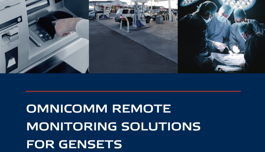 ​OMNICOMM Solution for Remote Management of Diesel Generators