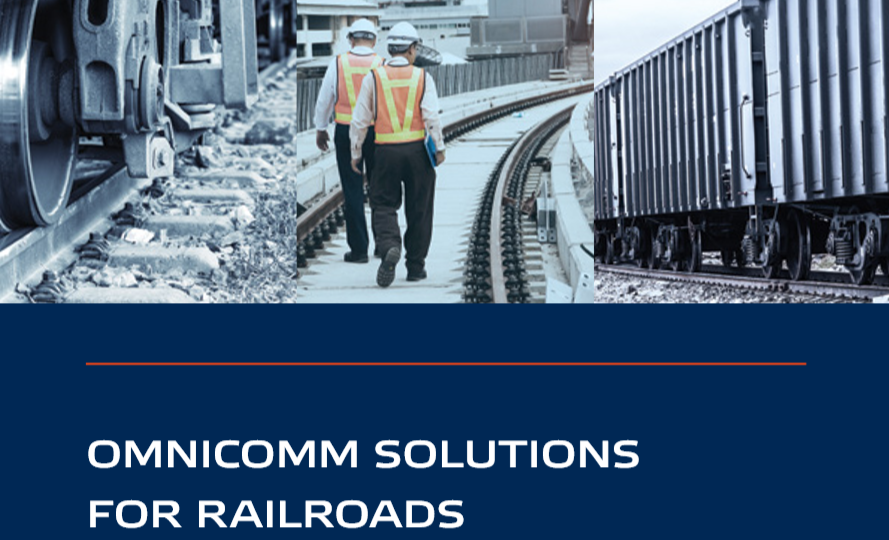 ​​OMNICOMM Solution for Rail Operators