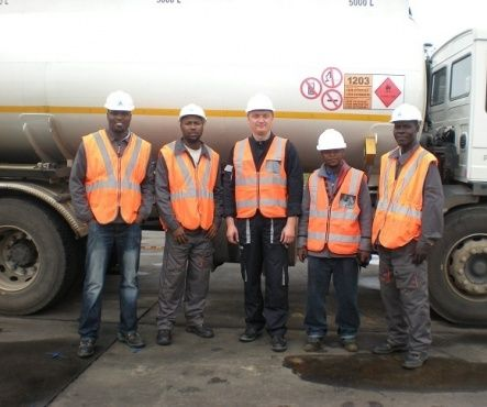 LLS sensors installation in Mozambique