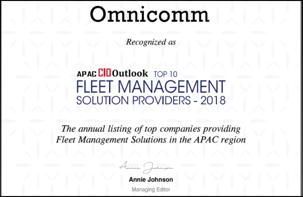 OMNICOMM Augmenting Business Value through Fleet Management