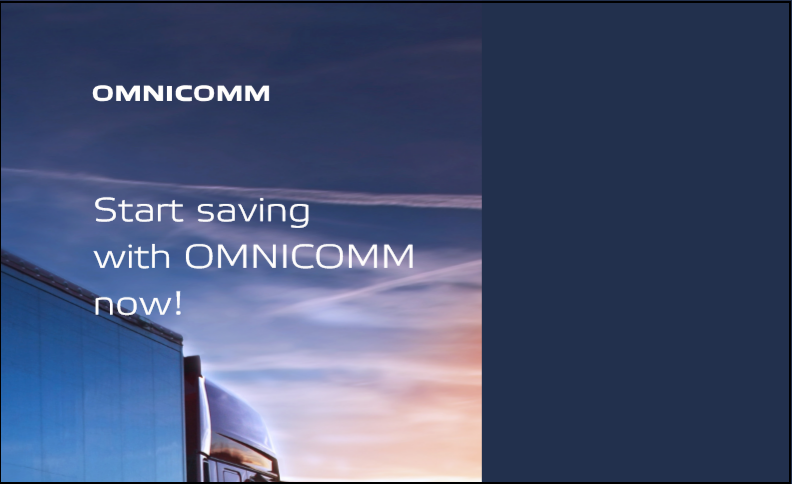 Start saving with OMNICOMM