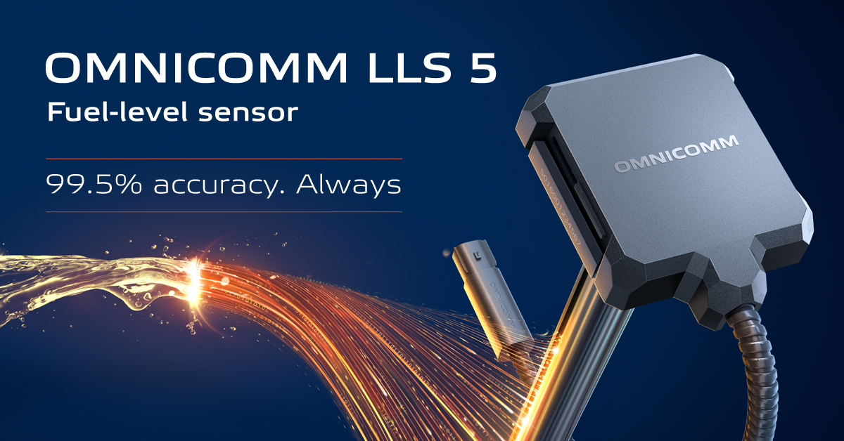OMNICOMM LLS 5 Fuel-level Sensor