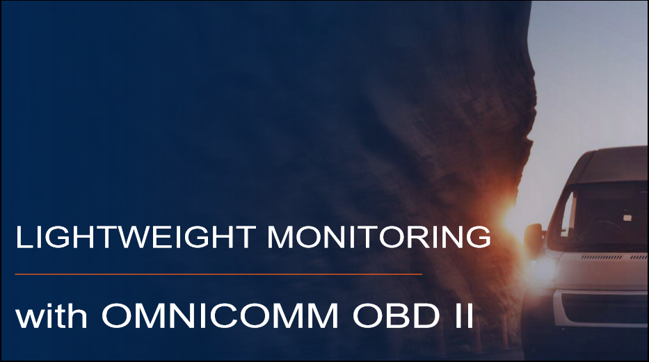 Lightweight Monitoring with OMNICOMM ODB II Presentation