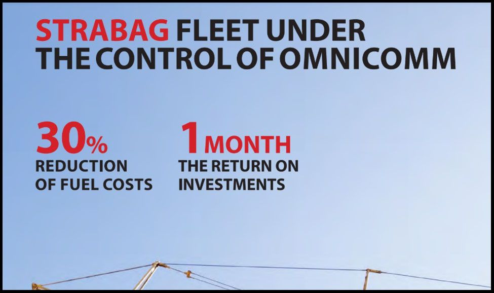 Strabag Fleet under OMNICOMM Control. Case Study