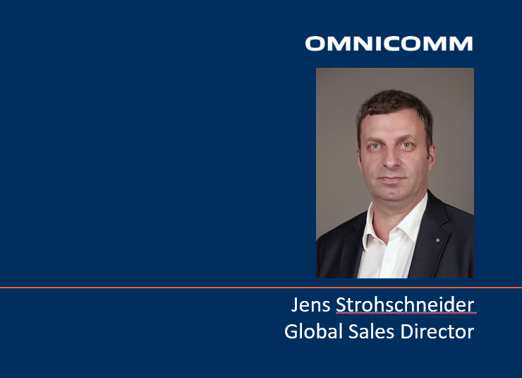 Omnicomm appoints Jens Strohschneider Global Chief Commercial Officer