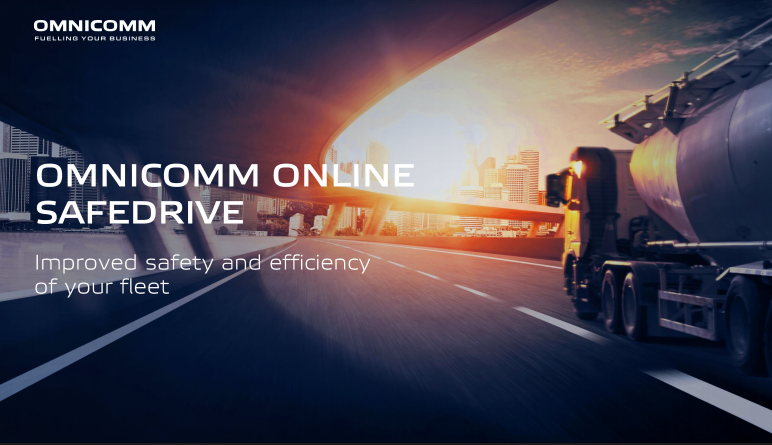 OMNICOMM Online SafeDrive. To customer