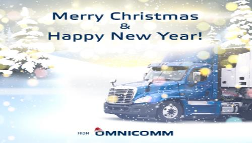 Omnicomm Wishes You a Merry Christmas and a Happy New Year