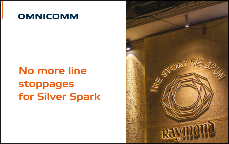 No more line stoppages for Silver Spark. Case study