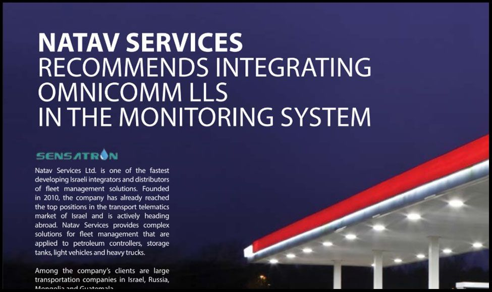 OMNICOMM Fuel Monitoring for Filling Stations. Case study
