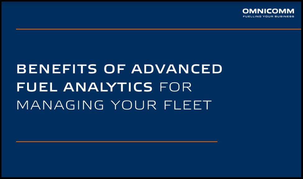 OMNICOMM Advanced Fuel Analytics