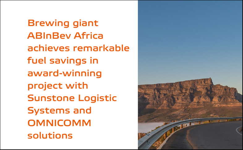 "OMNICOMM & Sunstone Logistics help the brewing giant Anheuser-Bush InBev ensure ""green"" logistics and achieve remarkable savings. Case study"