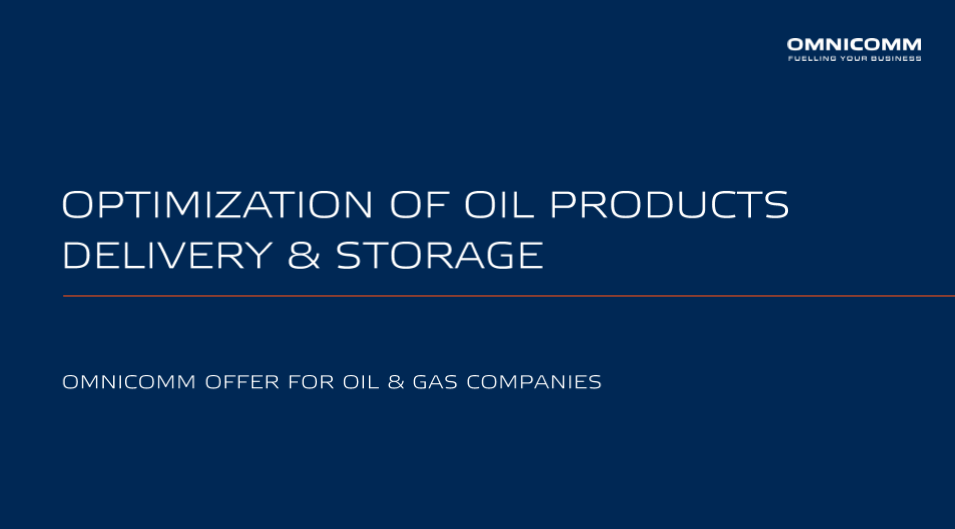 OMNICOMM Offer for Oil & Gas Companies Presentation